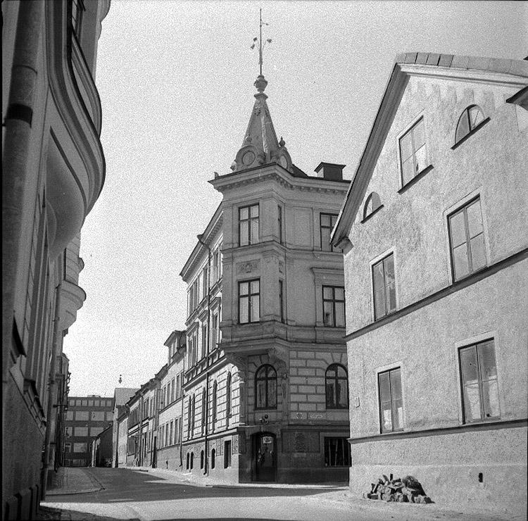Fotot tillhör Norrköpings Stadsmuseums fotoarkiv, fotograf: Per-Olof Person, taget 1958